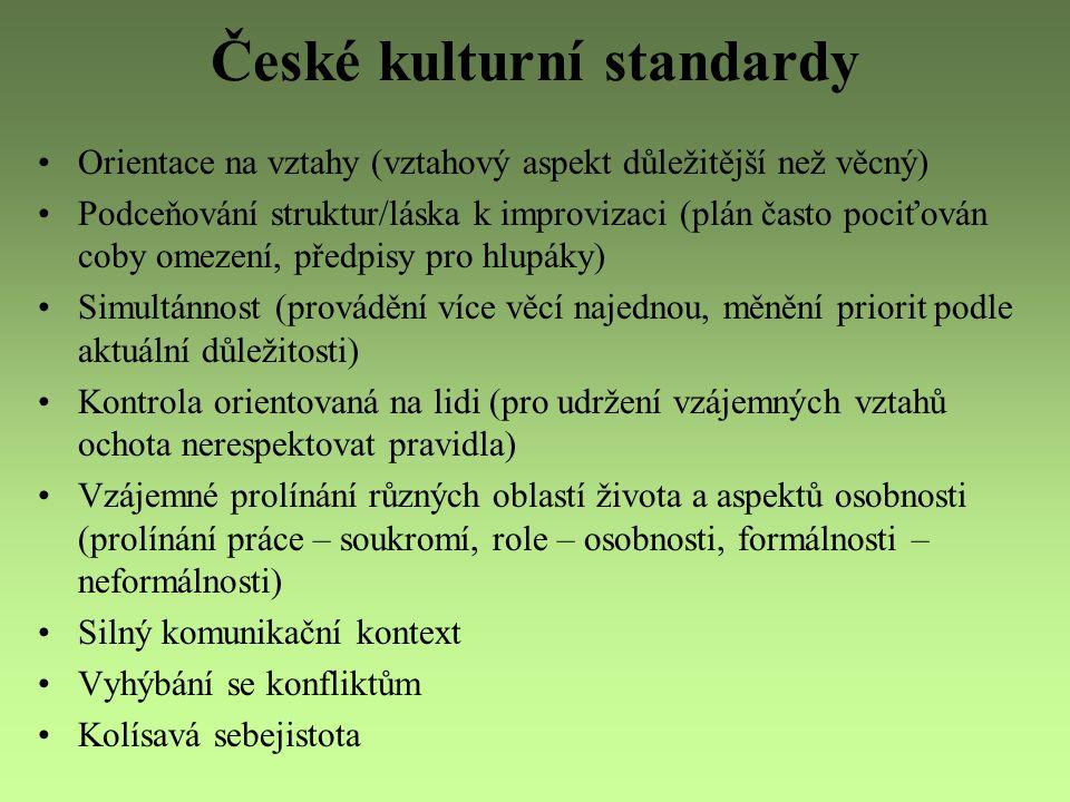 České kulturní standardy