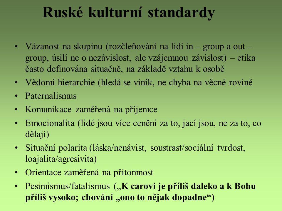 Ruské kulturní standardy