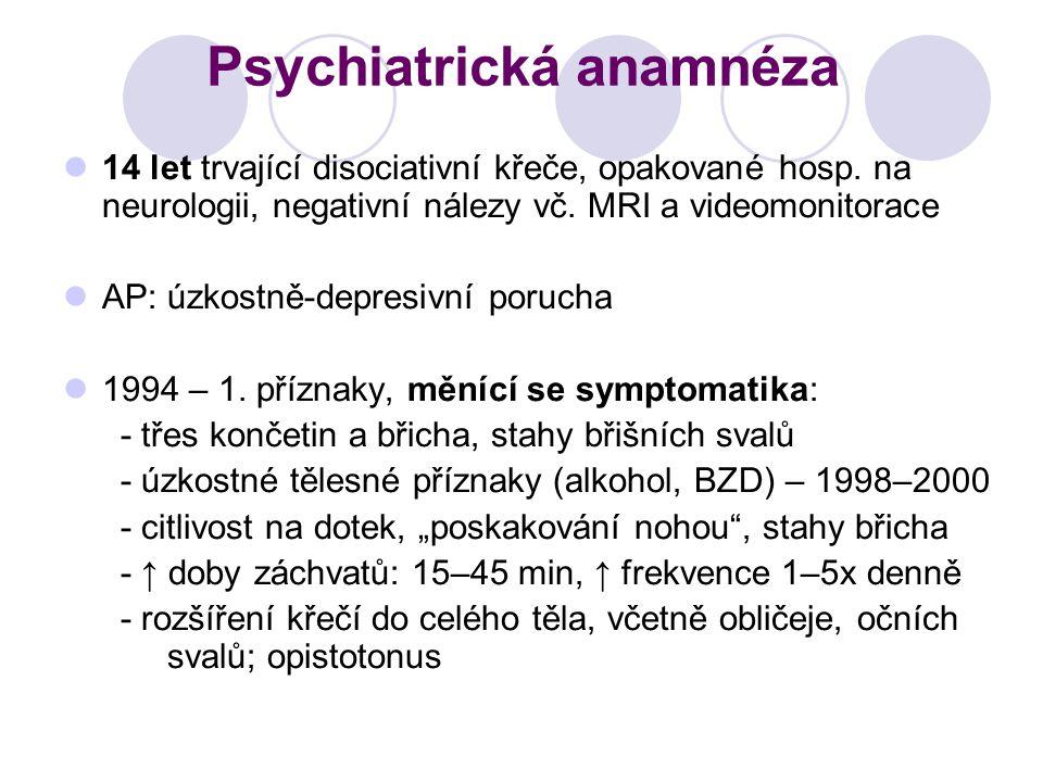 Psychiatrická anamnéza