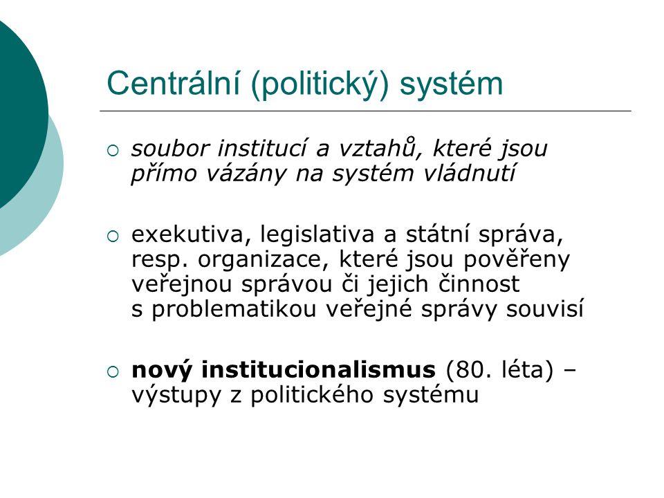 Centrální (politický) systém