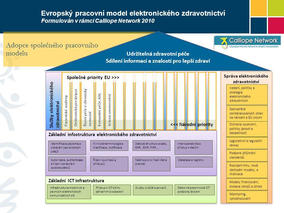 Adopce společného pracovního modelu