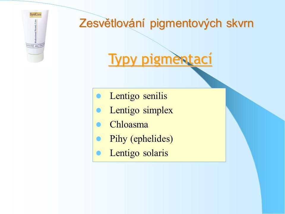 Zesvětlování pigmentových skvrn