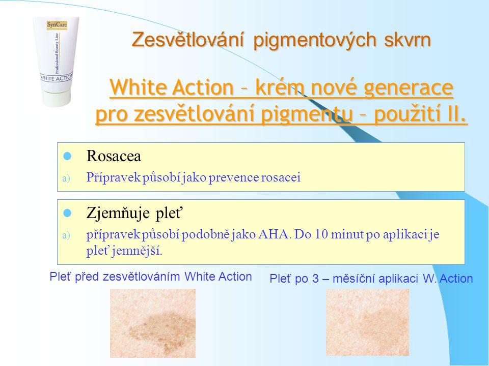 White Action – krém nové generace