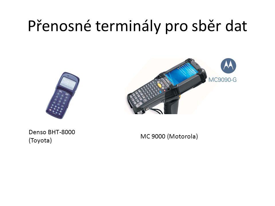 Přenosné terminály pro sběr dat