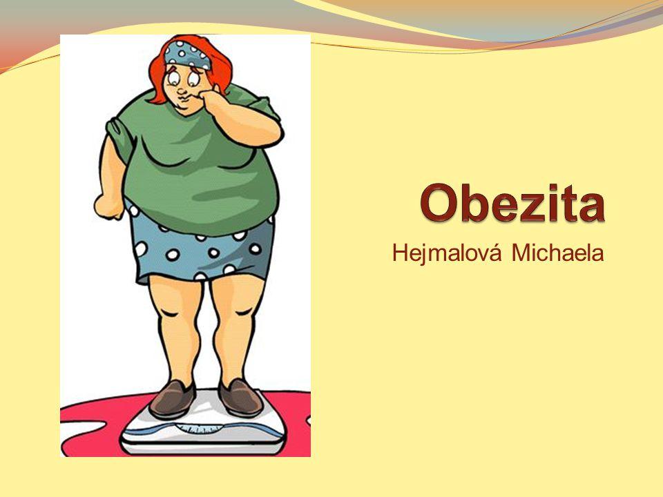 Obezita Hejmalová Michaela