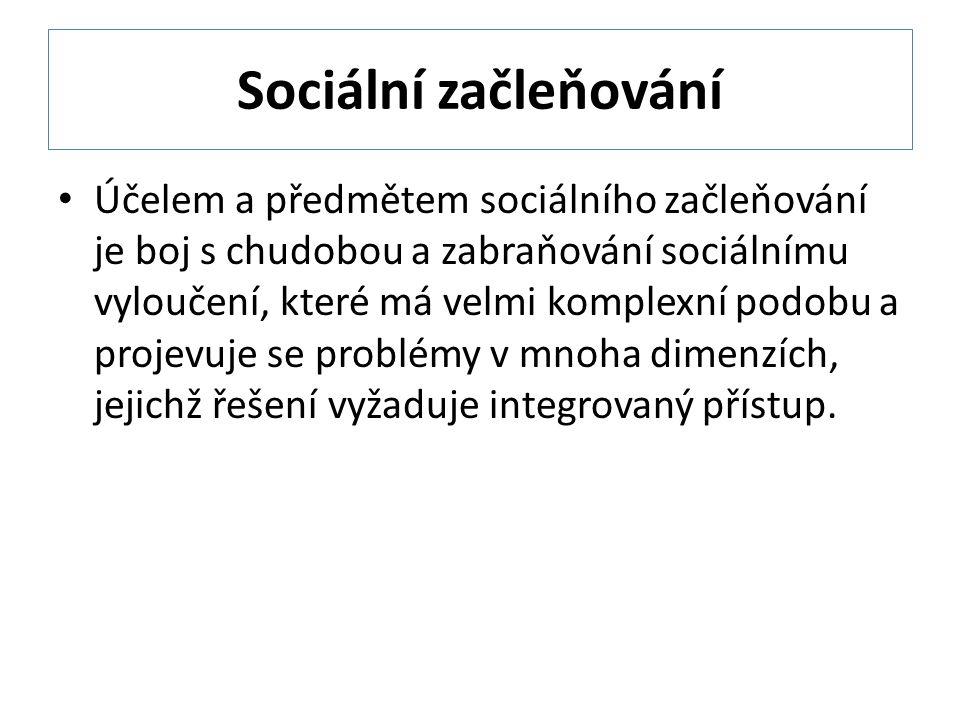 Sociální začleňování