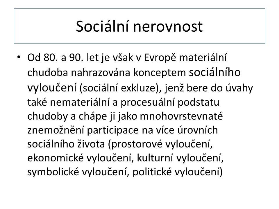 Sociální nerovnost