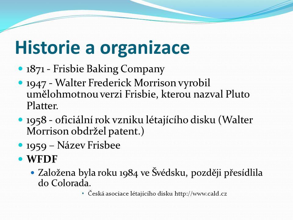 Historie a organizace 1871 - Frisbie Baking Company