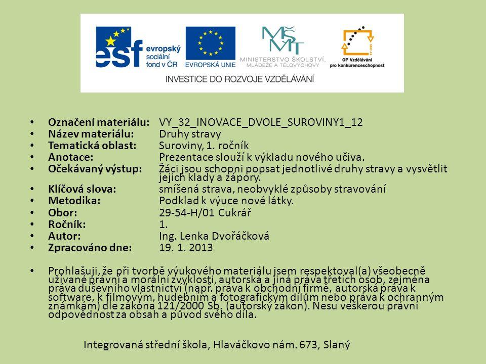 Označení materiálu: VY_32_INOVACE_DVOLE_SUROVINY1_12