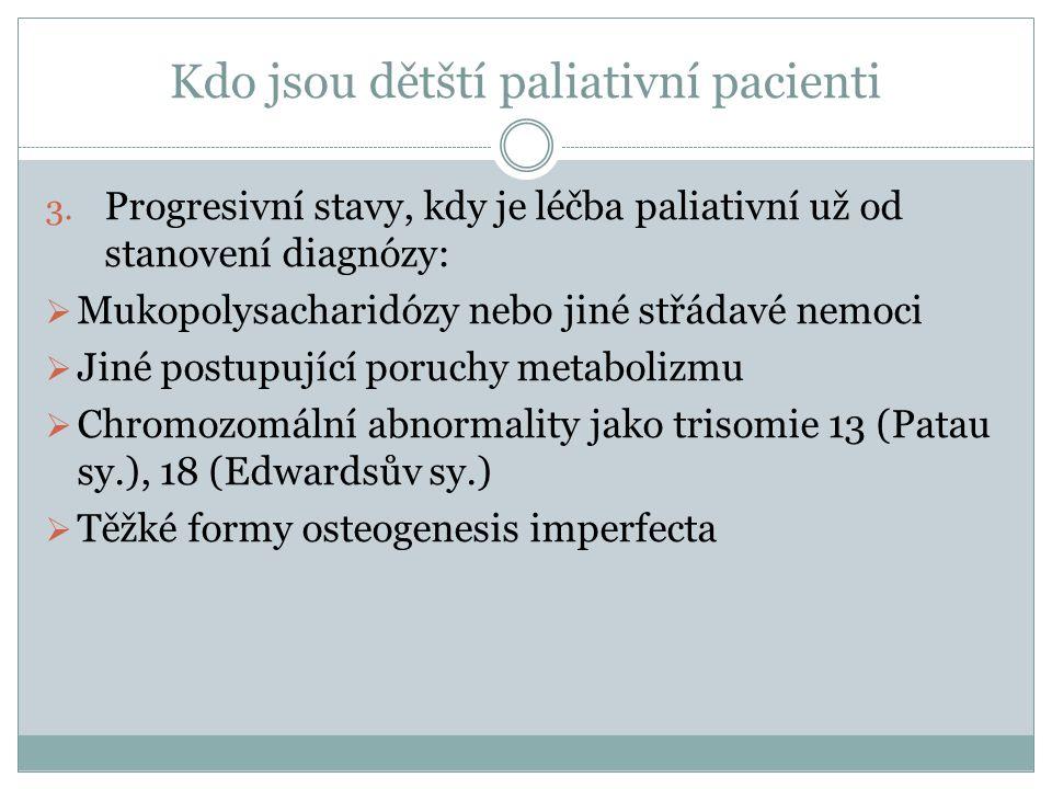 Kdo jsou dětští paliativní pacienti
