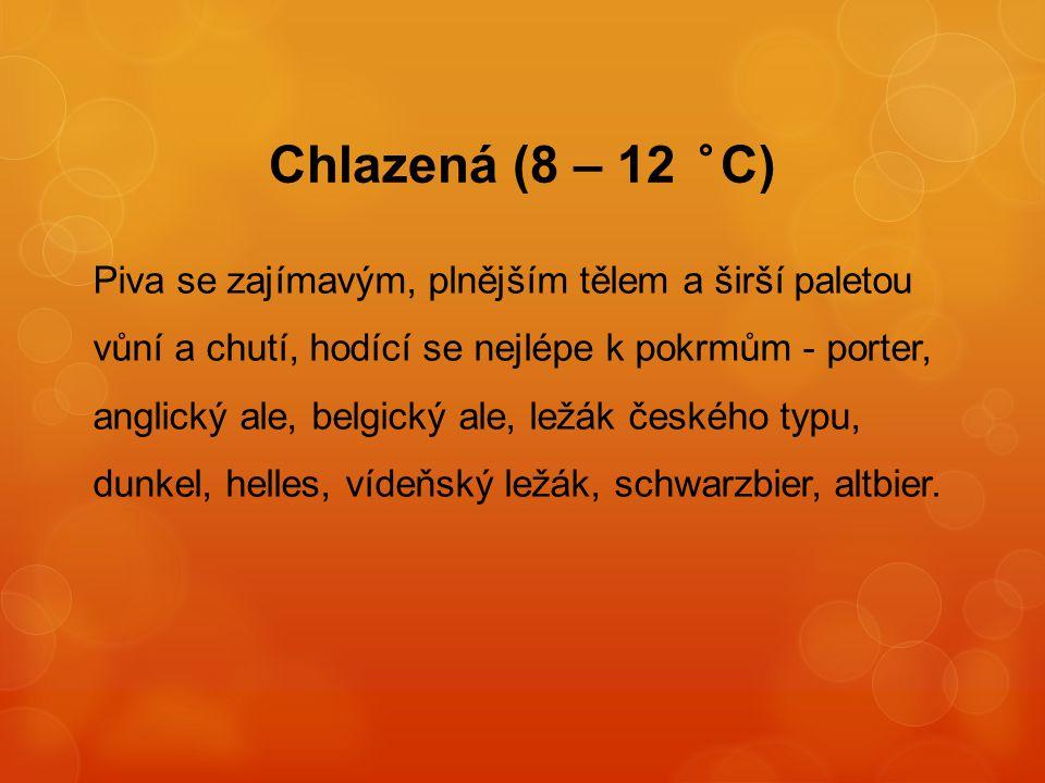 Chlazená (8 – 12 °C)