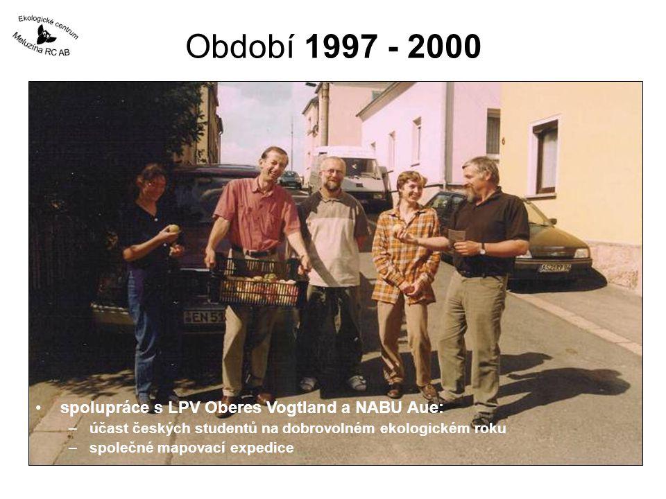 Období 1997 - 2000 spolupráce s LPV Oberes Vogtland a NABU Aue: