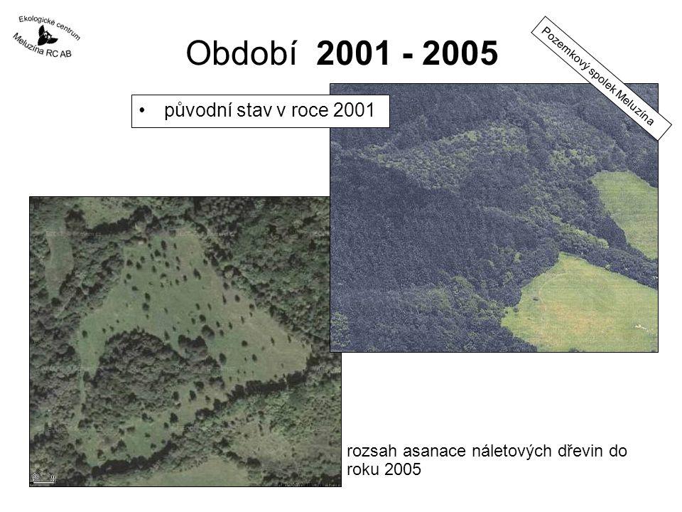 Období 2001 - 2005 původní stav v roce 2001