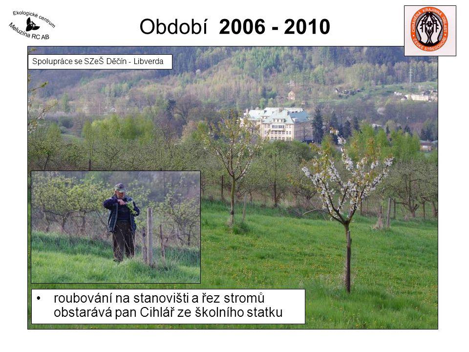 Období 2006 - 2010 Spolupráce se SZeŠ Děčín - Libverda.