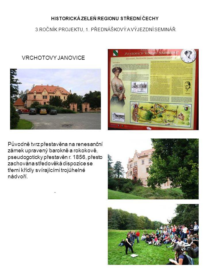 HISTORICKÁ ZELEŇ REGIONU STŘEDNÍ ČECHY 3. ROČNÍK PROJEKTU, 1