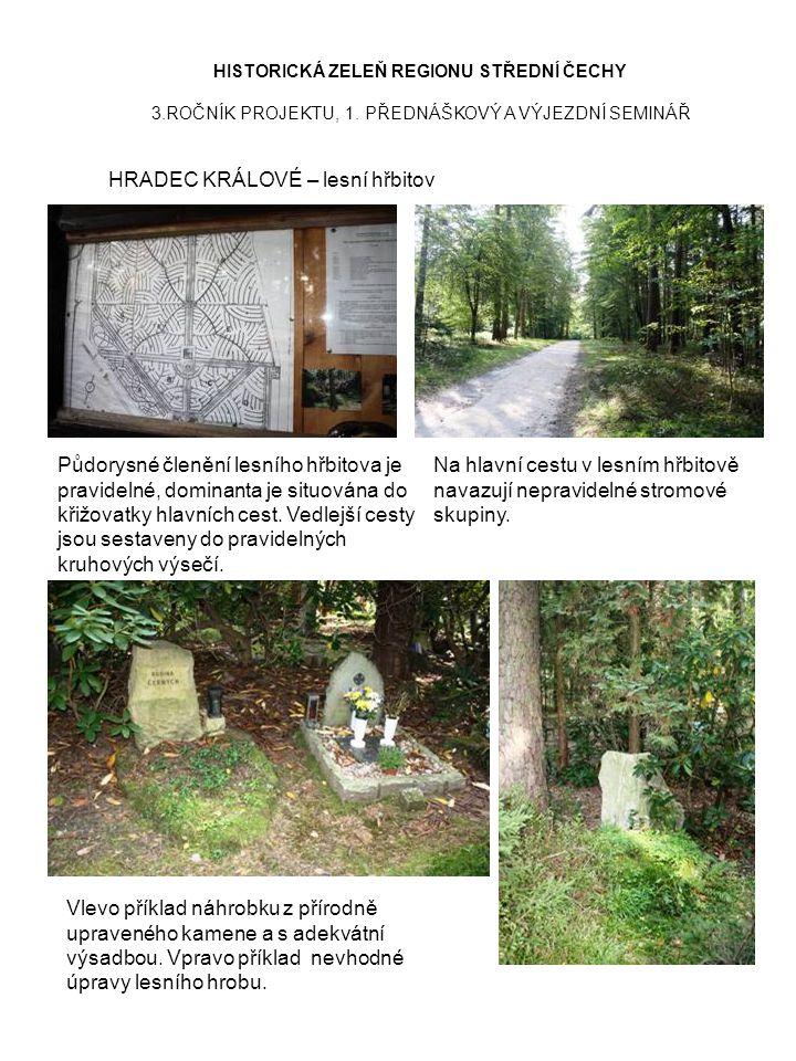 HRADEC KRÁLOVÉ – lesní hřbitov