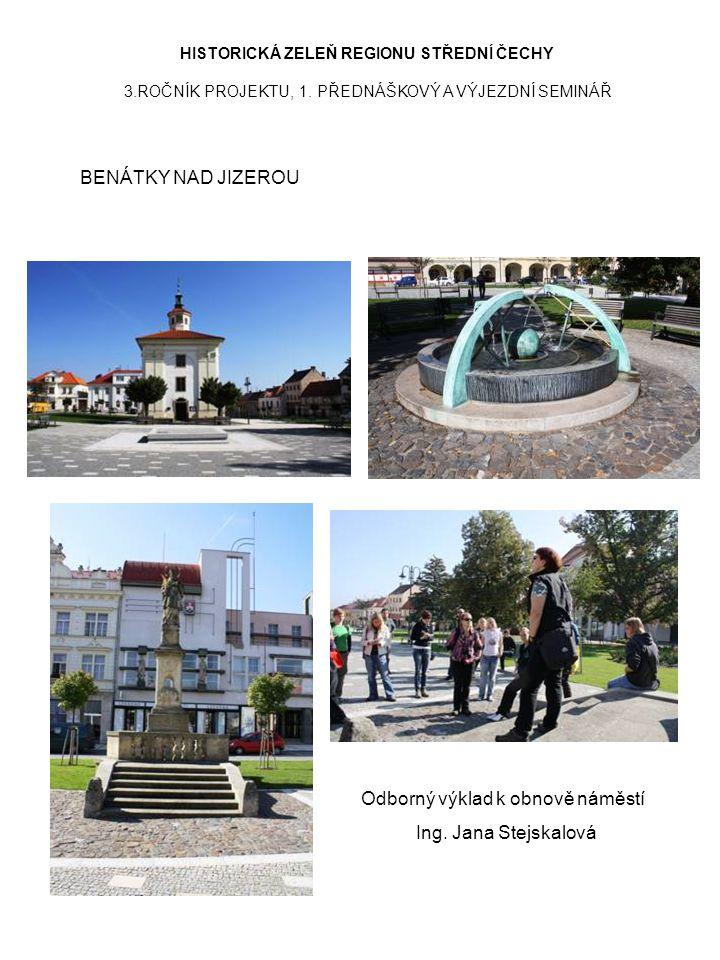 Odborný výklad k obnově náměstí