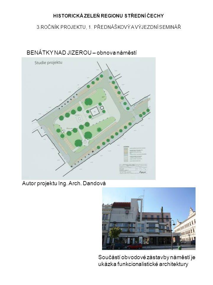 BENÁTKY NAD JIZEROU – obnova náměstí