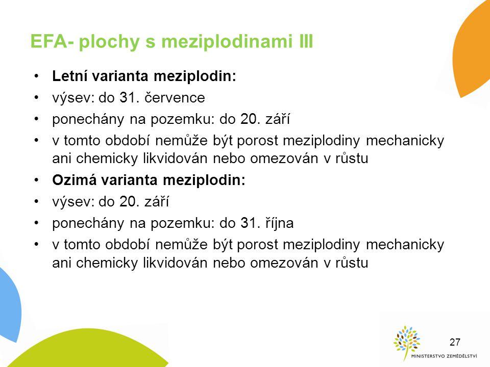 EFA- plochy s meziplodinami III