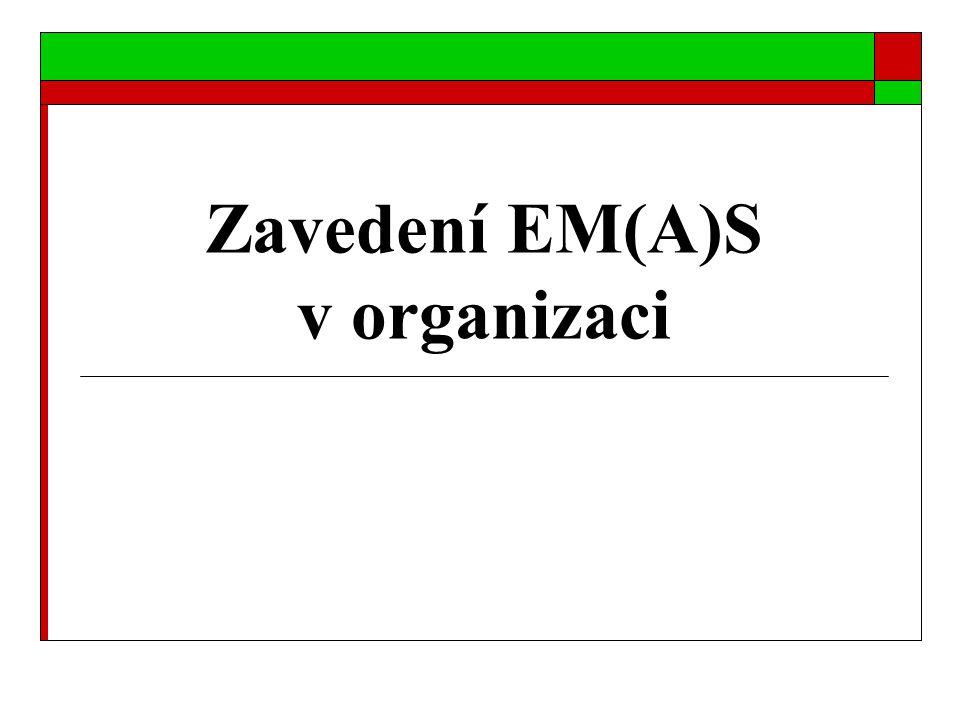 Zavedení EM(A)S v organizaci