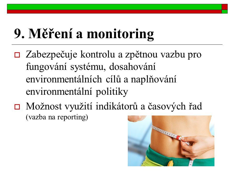 9. Měření a monitoring