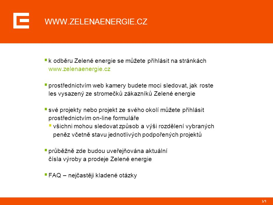 WWW.ZELENAENERGIE.CZ