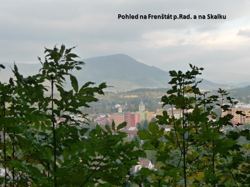 Pohled na Frenštát p.Rad. a na Skalku
