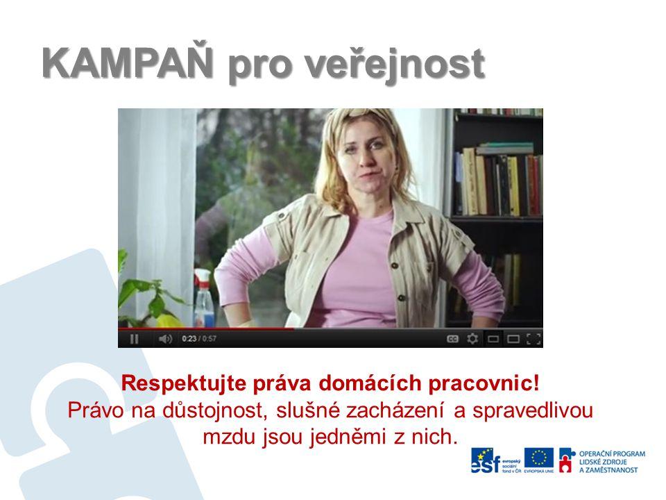 Respektujte práva domácích pracovnic!