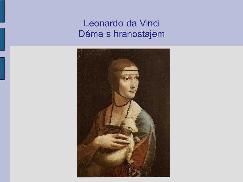 Leonardo da Vinci Dáma s hranostajem
