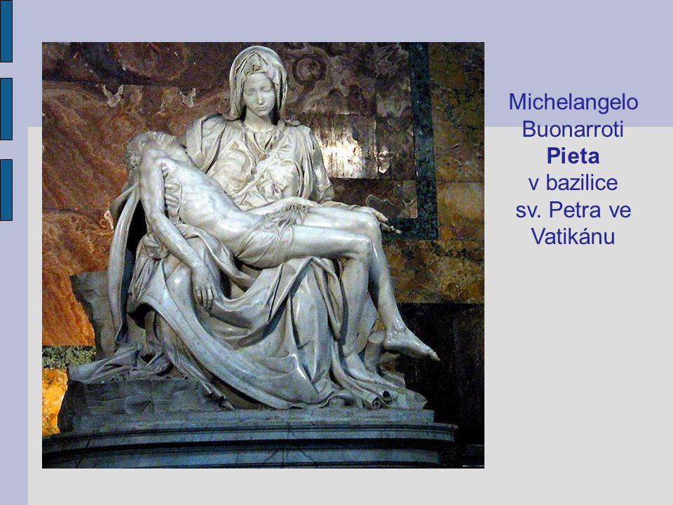Michelangelo Buonarroti Pieta