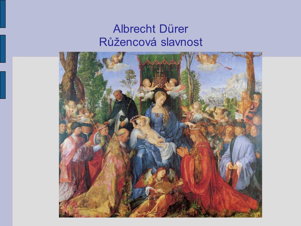 Albrecht Dürer Růžencová slavnost