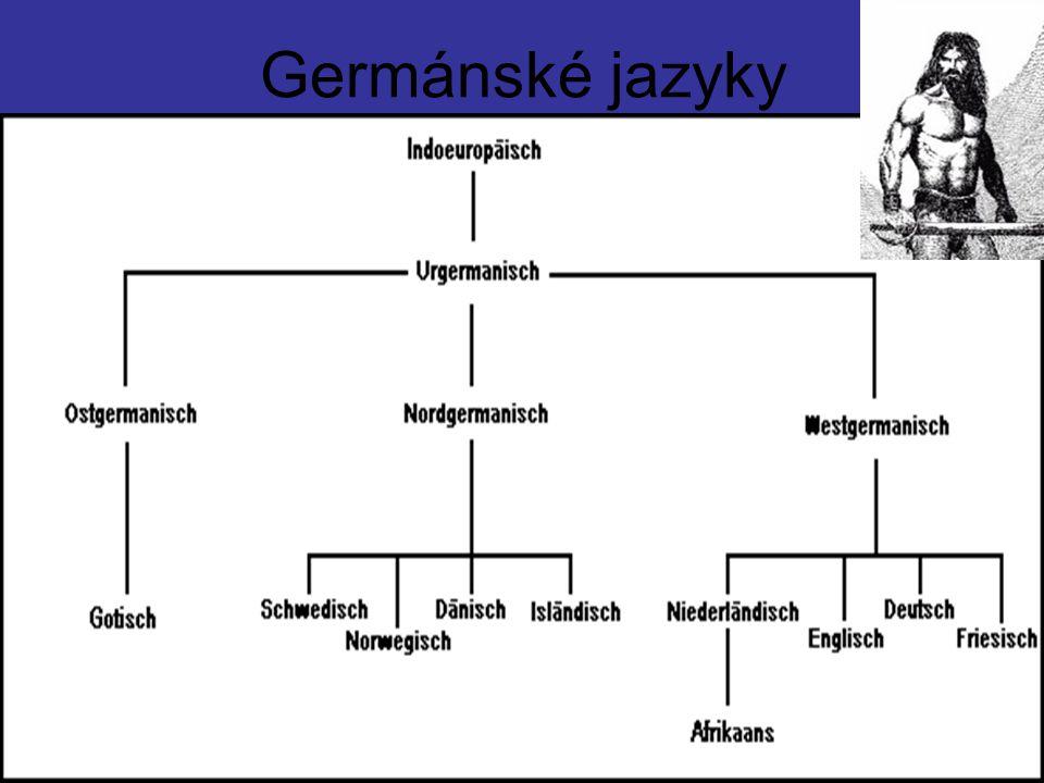 Germánské jazyky