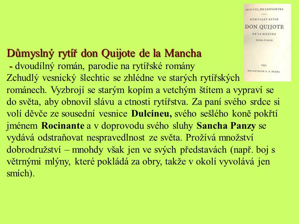 Důmyslný rytíř don Quijote de la Mancha
