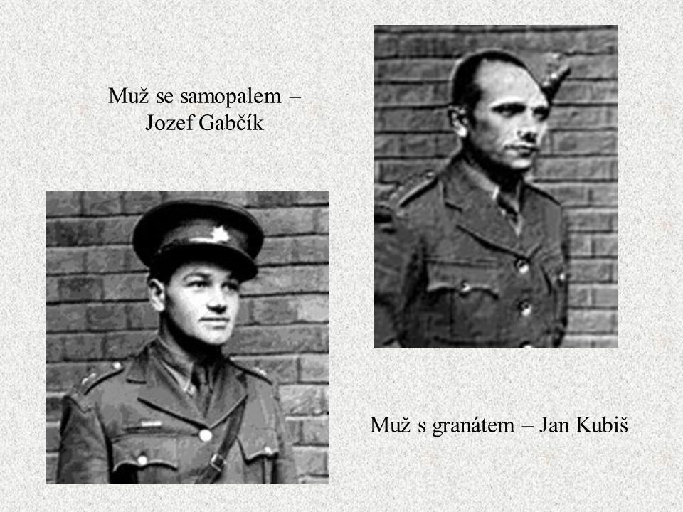 Muž se samopalem – Jozef Gabčík