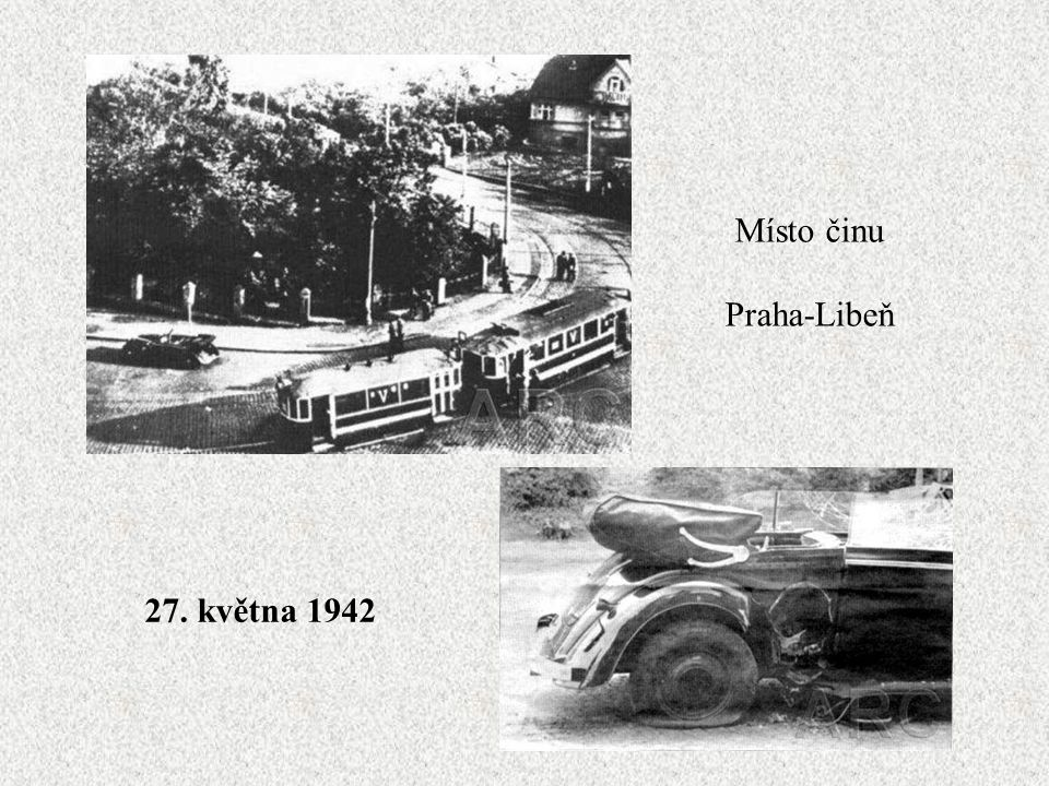 Místo činu Praha-Libeň 27. května 1942