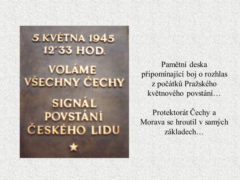 Protektorát Čechy a Morava se hroutil v samých základech…