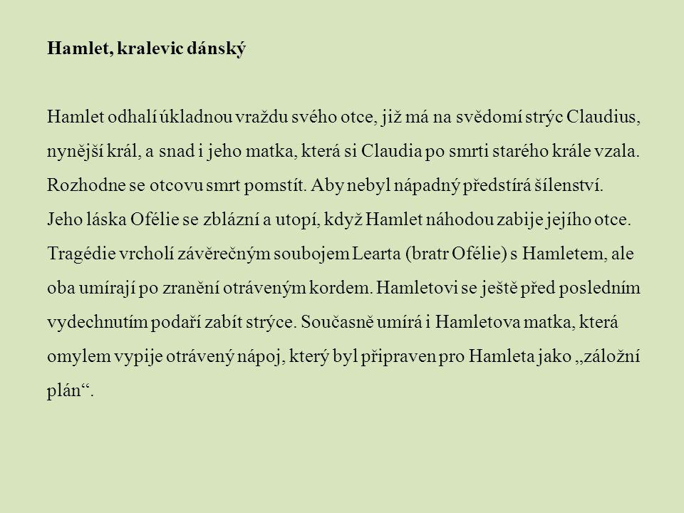 Hamlet, kralevic dánský