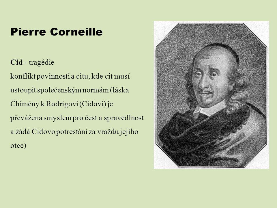 Pierre Corneille Cid - tragédie