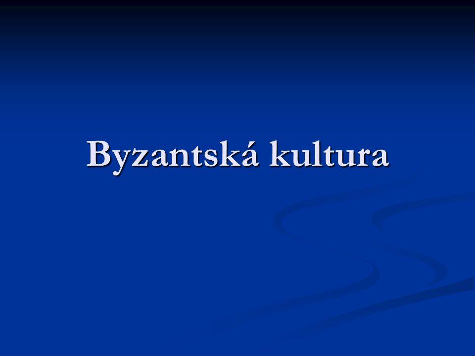 Byzantská kultura