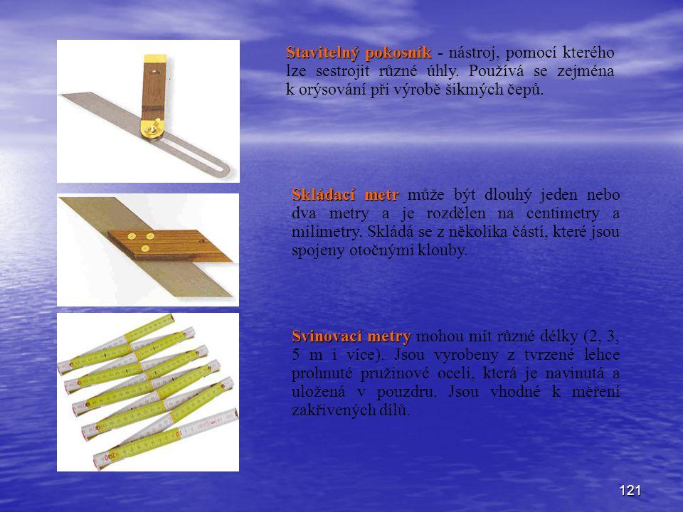 Stavitelný pokosník - nástroj, pomocí kterého lze sestrojit různé úhly