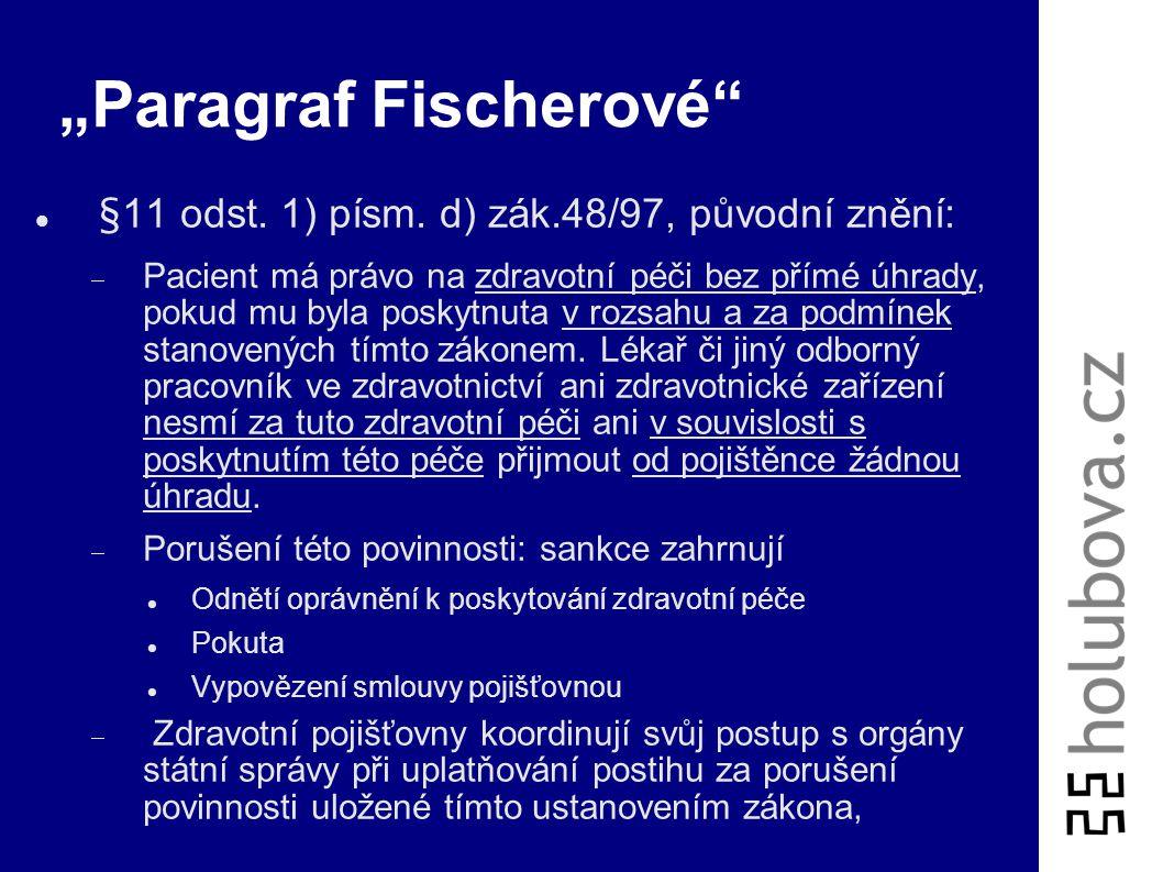 """Paragraf Fischerové"
