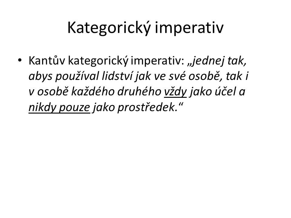 Kategorický imperativ