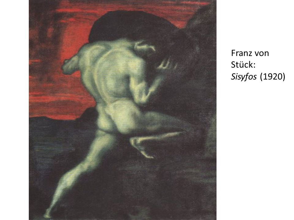 Franz von Stück: Sisyfos (1920)