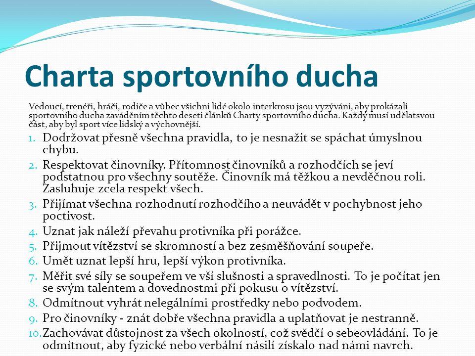 Charta sportovního ducha