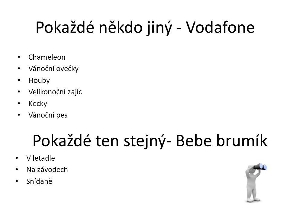Pokaždé někdo jiný - Vodafone