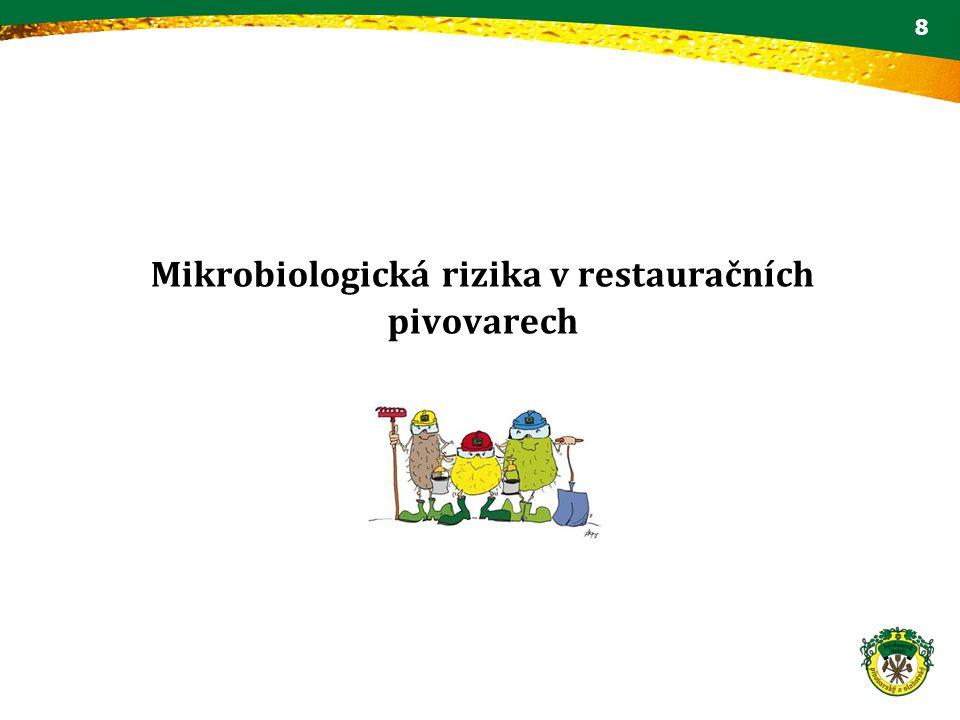 Mikrobiologická rizika v restauračních pivovarech