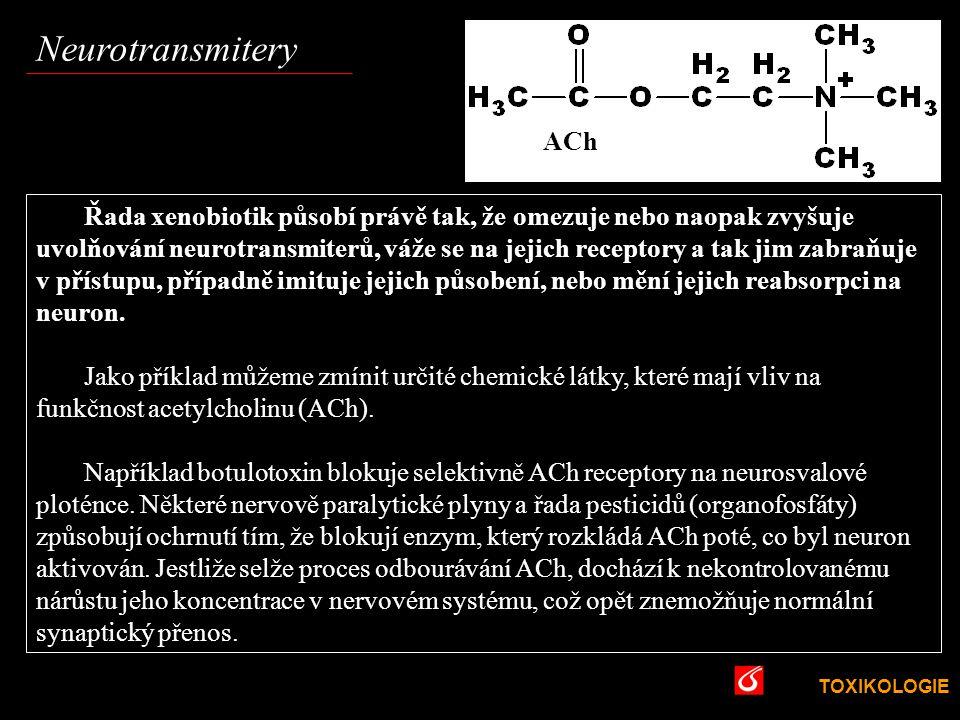 Neurotransmitery VŠCHT Praha ACh