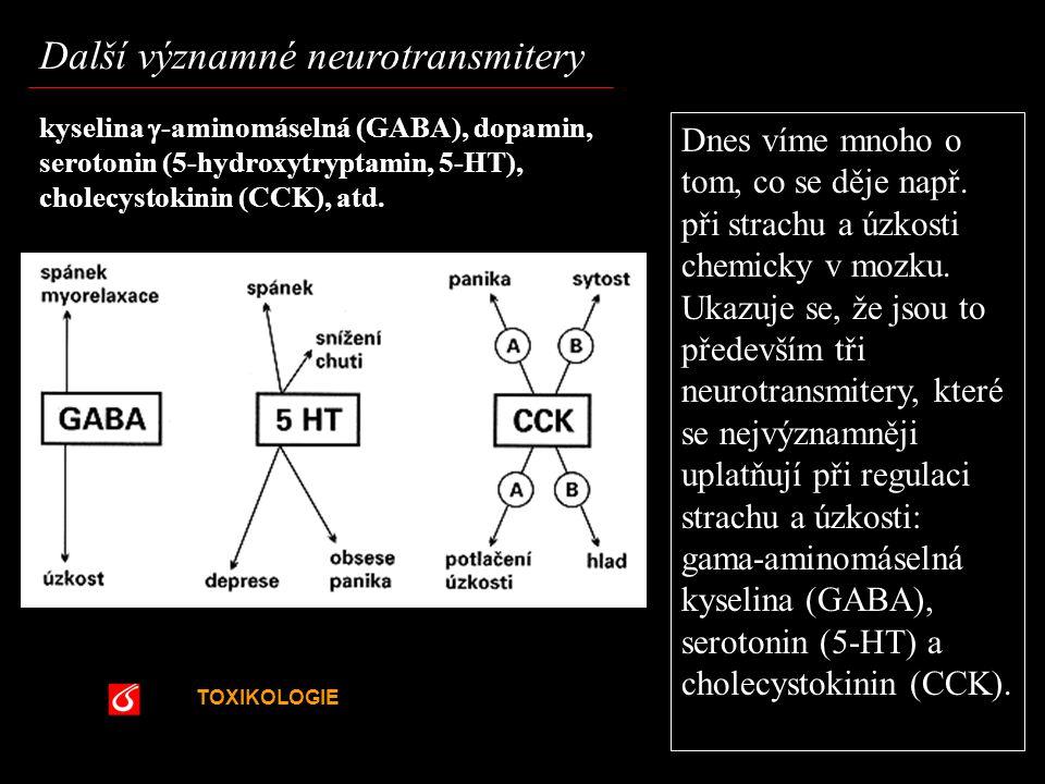 Další významné neurotransmitery