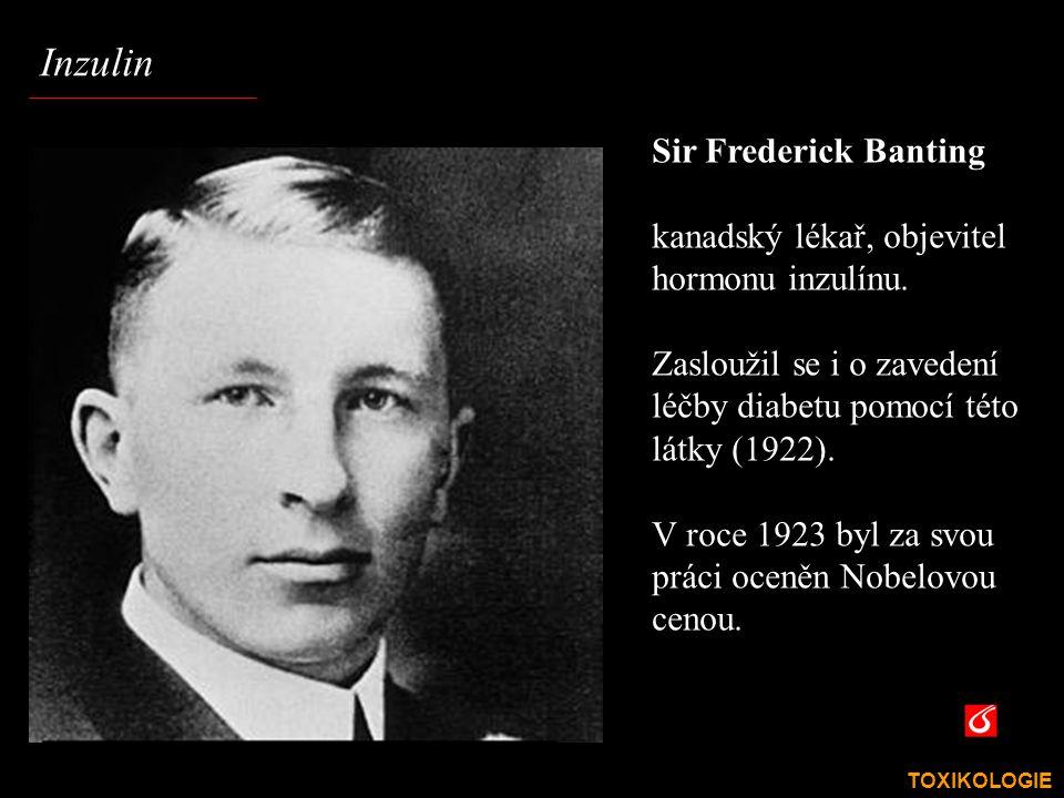 Inzulin Sir Frederick Banting