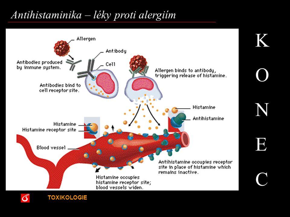K O N E C Antihistaminika – léky proti alergiím VŠCHT Praha